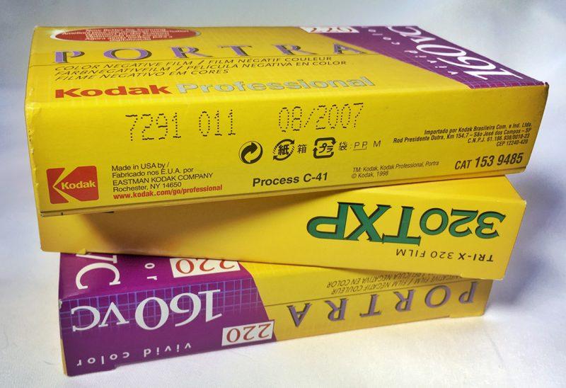 Expired Portra 160VC and Kodak 320TXP